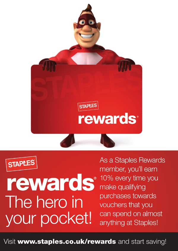 Advertising and Marketing - Staples Rewards