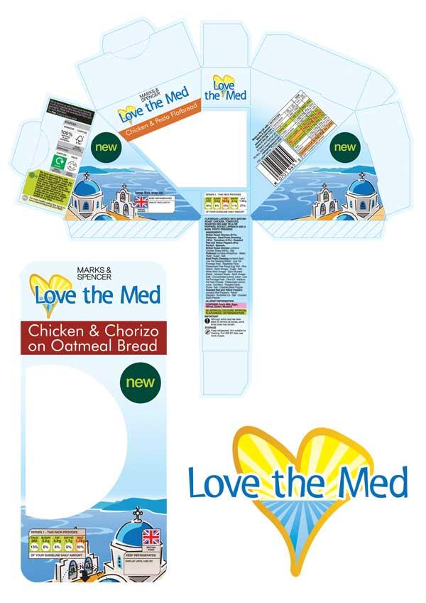Design & Branding - Marks & Spencer Packaging