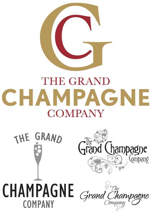 Design & Branding - Grand Champagne Company Logo Design
